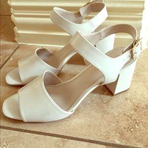 Calvin Klein White Sandals